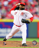 Cincinnati Reds - Johnny Cueto 2014 Action Photo