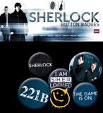 Sherlock Badge Pack Badge