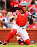 St Louis Cardinals - Yadier Molina 2014 Action Photo