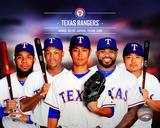 Texas Rangers 2014 Team Composite Photo