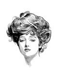 Gibson Girl, 1900 Posters by Charles Dana Gibson
