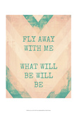 Fly Away with Me Posters by Amy Lighthall