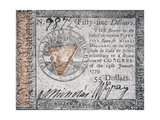 Continental Currency, 1779 Giclee Print