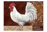 Rustic Roosters IV Art by Theresa Kasun