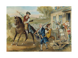 Minutemen, 1776 Giclee Print by  Currier & Ives