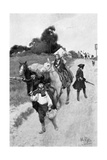 Loyalists to Canada Giclee Print by Howard Pyle