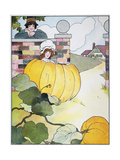 Mother Goose: Pumpkin Giclee Print by Blance Fisher Wright