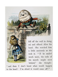 Looking Glass Posters by Sir John Tenniel
