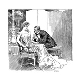 His Dance, 1903 Print by Charles Dana Gibson