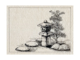 Japan: Garden Ornament Print by  Kano