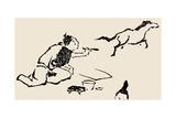 Horse, C1814 Giclee Print by Katsushika Hokusai