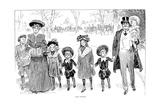 Race Suicide, 1903 Reproduction procédé giclée par Charles Dana Gibson