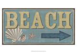 Shoreline Signs III Poster von Erica J. Vess