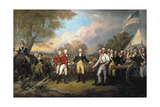 Saratoga: Surrender, 1777 Giclee Print by John Trumbull