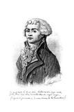 Maximilien Robespierre Giclee Print by Francois Gerard