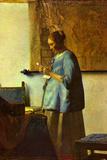 Johannes Vermeer The Letter Reader Prints