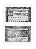 New York Bill, 1776 Giclee Print