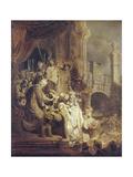 Ecce Homo Prints by  Rembrandt van Rijn