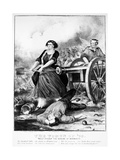 Molly Pitcher (C. 1754-1832) Giclee Print by  Currier & Ives