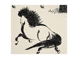 Horse, C1814 Prints by Katsushika Hokusai