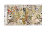 Japan: Mongol Invasion Giclee Print by Tosa Nagataka