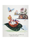 Andersen: Thumbelina Giclee Print by Arthur Szyk