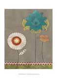 Petal Patterns IX Prints by June Erica Vess