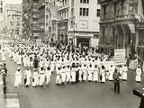NAACP Parade, NYC, 1917 Fotodruck