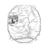 Trenton Map, 1777 Giclee Print