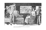 Trial by Jury Giclee Print by Charles Dana Gibson