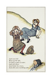 Jack and Jill Giclee Print by Kate Greenway
