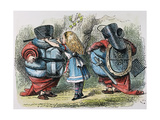 Looking Glass Prints by John Tenniel