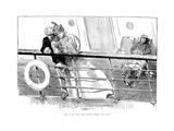 An Ill Wind, 1897 Premium Giclee Print by Charles Dana Gibson