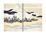 Japan: Mount Fuji Giclee Print by Katsushika Hokusai