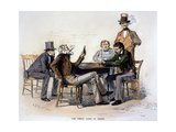 Poker Game, 1840s Giclee Print by Arthur Burdett Frost