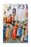 Carrying the Cross Giclée-Druck von Simone Martini