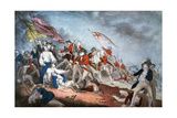 Battle of Bunker Hill, 1775 Giclee Print by  Currier & Ives