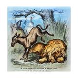 Democrat Donkey, 1870 Giclee Print by Thomas Nast