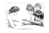 The Weaker Sex II Giclee Print by Charles Dana Gibson