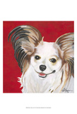 Dlynn's Dogs - Lilly Print by Dlynn Roll