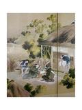 Japan: Cotton Processing Prints by Katsushika Hokusai