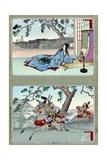 Tomoe Gozen (1157-1247) Giclee Print by Adashi Ginko
