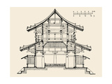 Architecture: Japanese Giclee Print