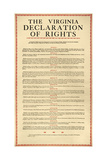 Virginia Constitution, 1776 Giclee Print