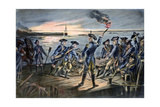 Battle of Long Island, 1776 Giclee Print