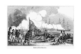 Fort Sullivan Battle, 1776 Giclee Print