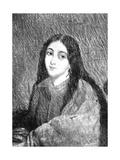 Marie Duplessis (1824-1847) Giclée-Druck von Vincent Vidal