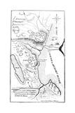 Revolutionary War Plan Giclee Print
