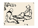 Go, 1815 Posters by Katsushika Hokusai