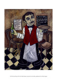 French Waiter III Posters by Holly Wojahn